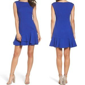 Vince Camuto NEW Sleeveless Crepe Fit Flare Dress